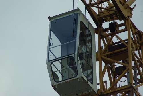 Crane Crane Cab Baukran Kranhaus High Führerhaus
