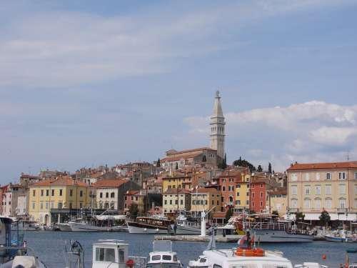 Croatia Vacations Sea Sky Port Summer Landscape