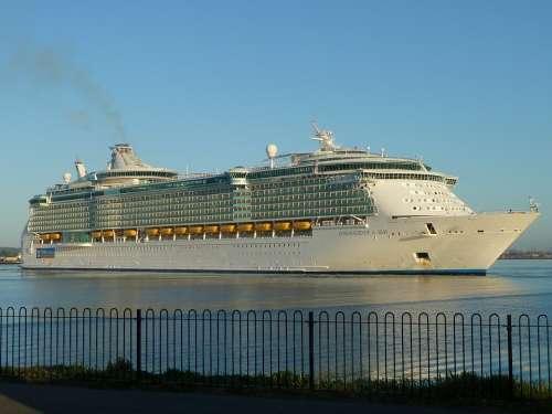 Cruise Ship Sailing Sailboat Marine Vacation