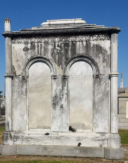Crypt Cemetery Tombstone New Orleans Louisiana