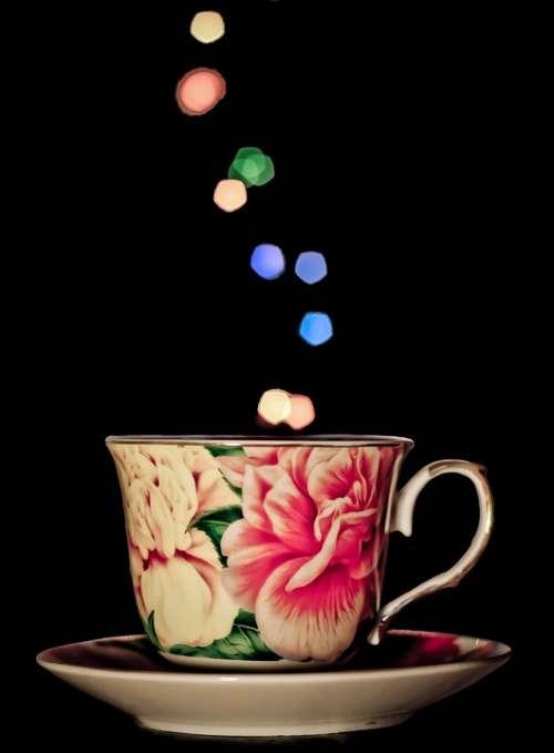 Cup Mug Tea Bokeh Beverage