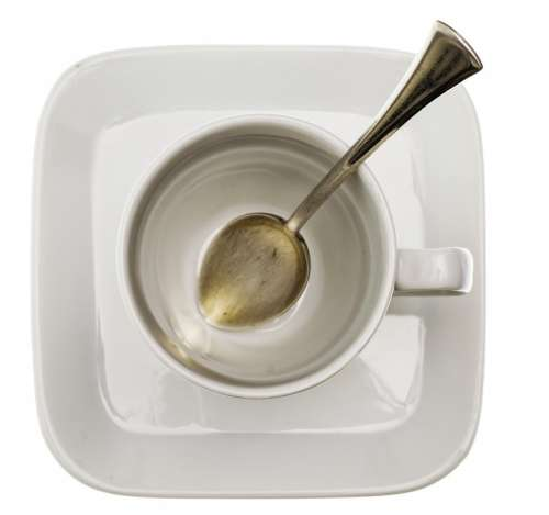 Cup Coffee Spoon Drink Cafe White