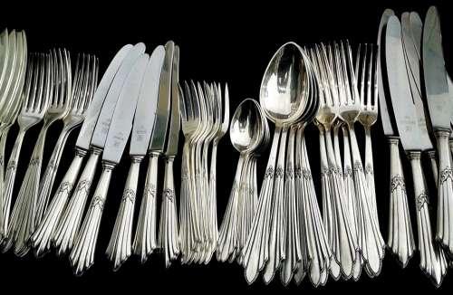 Cutlery Panel Cutlery Knife Forks Spoon Silverware