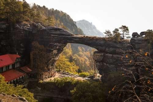 Czech Rock Landscape Monument