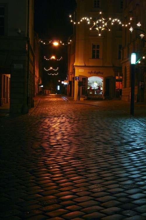Czech Republic Morava Olomouc City Street