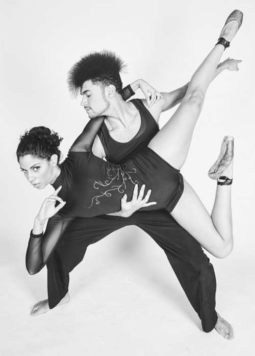 Dance Woman Girl Dancing Man Couple Duo Duet