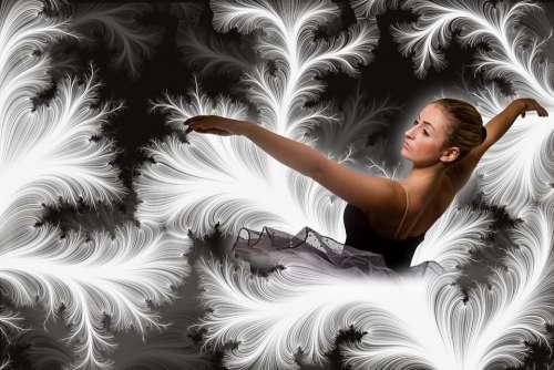 Dance Dancer Ballet Ballerina Slightly Ease