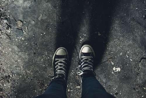 Dark Shoes Shadow Sneakers