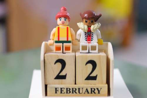 Date Two White Recognition Twenty-Two February