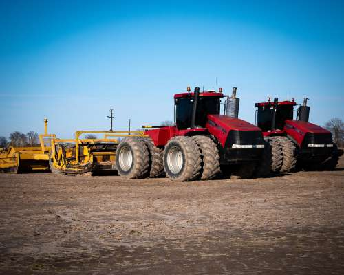 Day Farm Tractor Agriculture Farmer Rural Bright