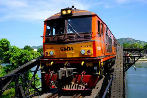 Death Railway River Kwai River Bridge Kanchanaburi