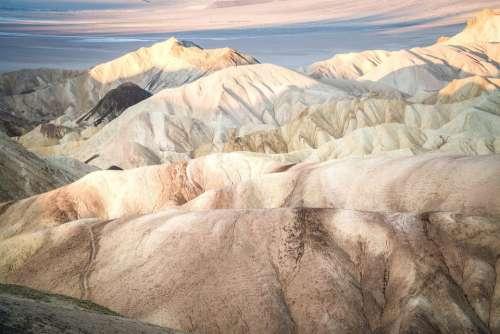 Death Valley California Desert Mountains Nature