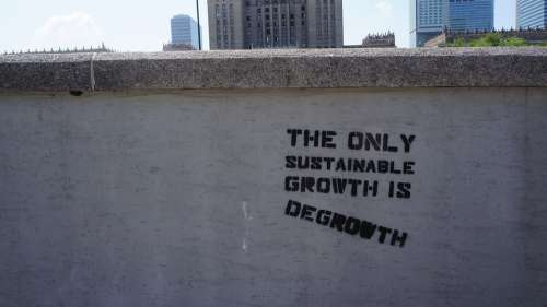 Degrowth Sustainability Growth Urbanisation Urban