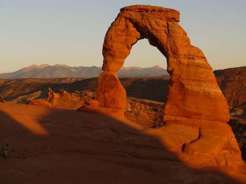 Delicate Arch Arch Stone Arch Arches