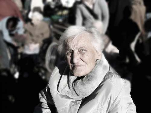 Dependent Dementia Woman Old Age Alzheimer'S