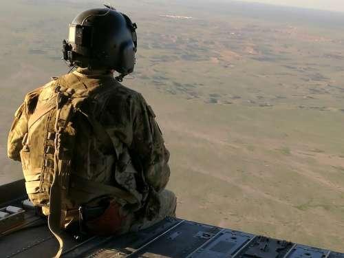 Desert War Army Iraq Military Sandstorm American