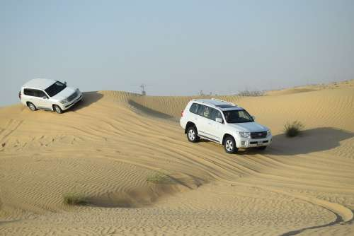 Desert Car Sand Natural Travel Dunes Vehicle