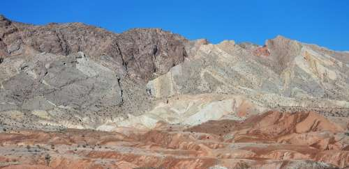 Desert Red Rock Lake Mead National Park Vacation