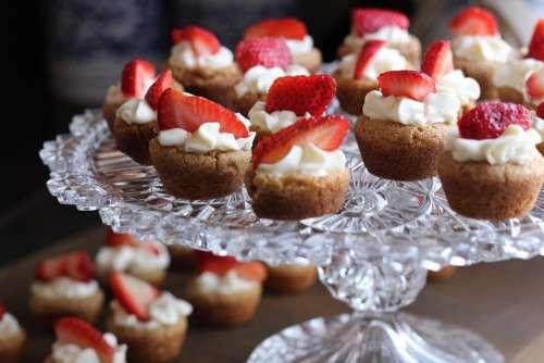 Dessert Strawberry Tart Berry Fruit Cupcakes Cake