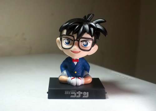 Detective Conan Young Male Boy Glasses Japanese