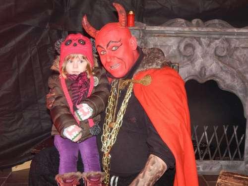 Devil Boy Girl Sister