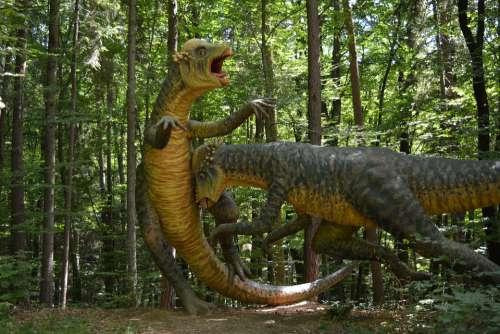 Dinosaur Prehistoric Times Giant Lizard Carnivores