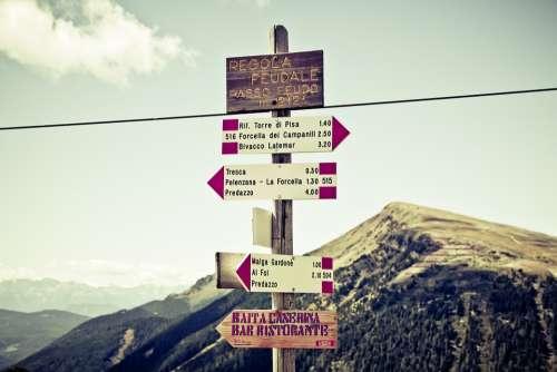 Directory Mountain Mountains Alpine Hiking