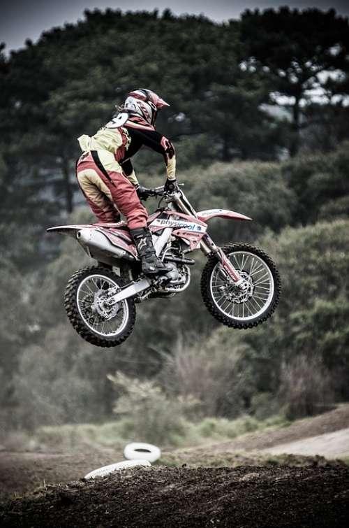 Dirt Bike Motocross Bike Motorcycle Exhaust Metal