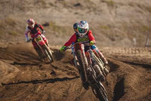 Dirt Bike Racing Race Speed Extreme Sport