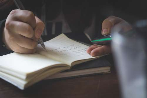 Document Education Hand Knowledge Learn Note