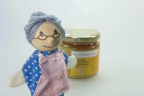 Doll Grandma Wood Play Nostalgic Cook Health