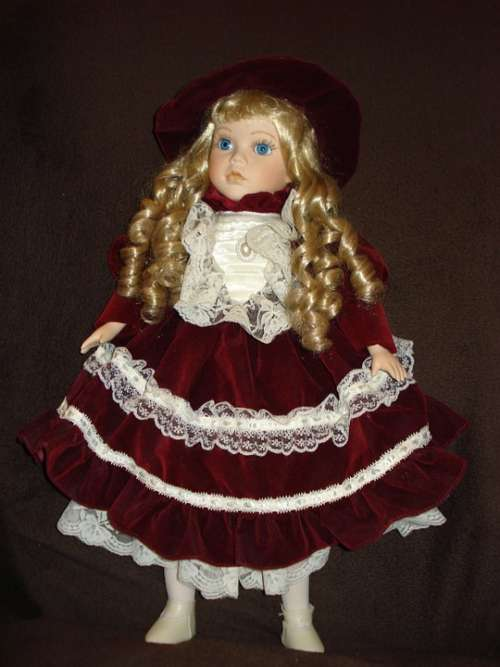 Doll Collection Blond Girl Toy