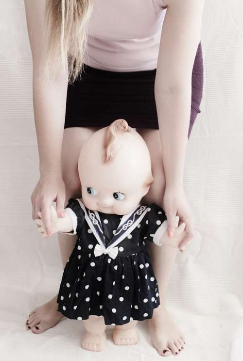 Doll Nostalgic Run Girl Play Children Toys