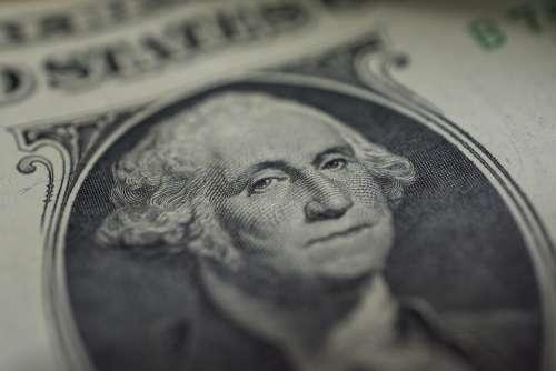 Dollar Macro Eyes George Washington Nikon D7100