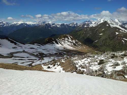 Dolomites Belluno Mountains Alpine Landscape Italy