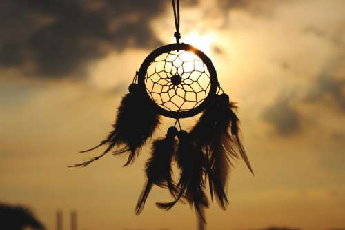Dream Catcher Culture Indian Dream Sun Tradition