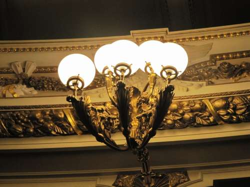 Dresden Semper Opera Lantern Lighting Theater