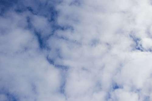 Drone High Clouds Heaven Frozen Sky Winter
