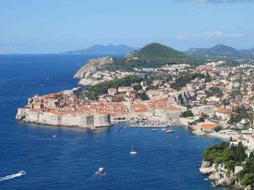 Dubrovnik Croatia City Dalmatia