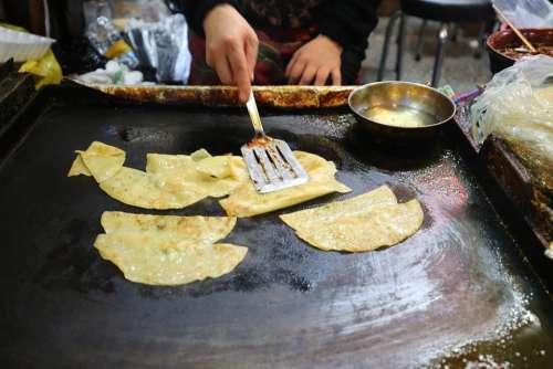 Dumplings Food Roast Daegu Flat All East Market