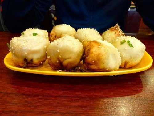Dumplings Empanadas Chinese Cuisine Sesame
