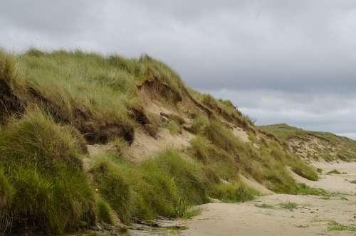 Dune Beach North Sea Nordic Coast Sand Landscape