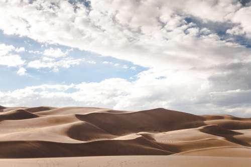 Dunes Desert Hot Dry Climate Sand Sand Dunes