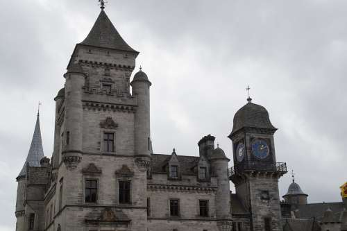 Dunrobin Castle Tower Scotland Fairy Castle
