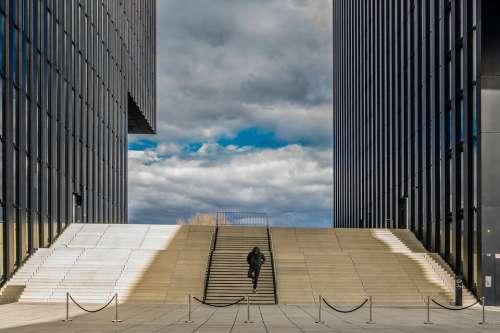 Dusseldorf Modern Architecture Building