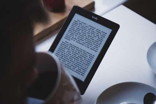 E-Book Kindle Ebook Digital Technology Device
