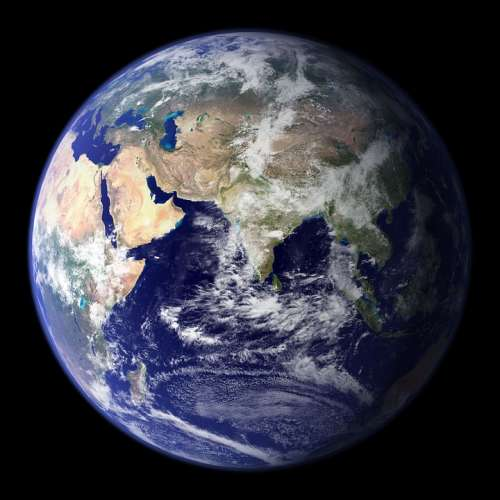 Earth Blue Planet Globe Planet Space Universe