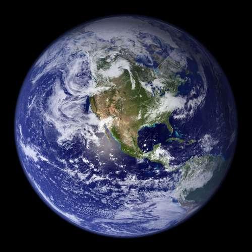 Earth Blue Planet Globe Planet Space Universe