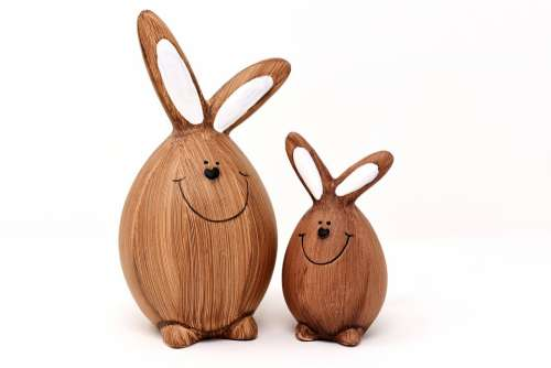 Easter Easter Bunny Figure Easter Decoration