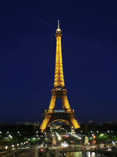 Eiffel Tower Paris France Places Of Interest